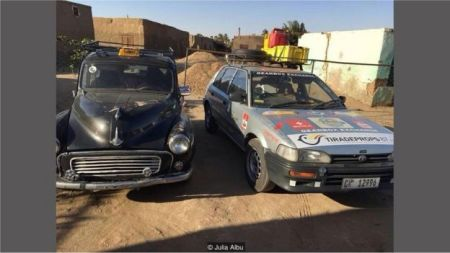 因为在电台节目中听到前南非总统祖马喜欢豪车,阿尔布受到启发,踏上了旅程。