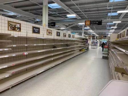 英国大型超市现状(作者供图)