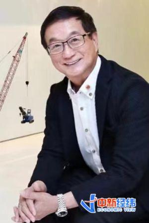 新加坡中华总商会会长、达丰控股有限公司董事长黄山忠 受访者供图
